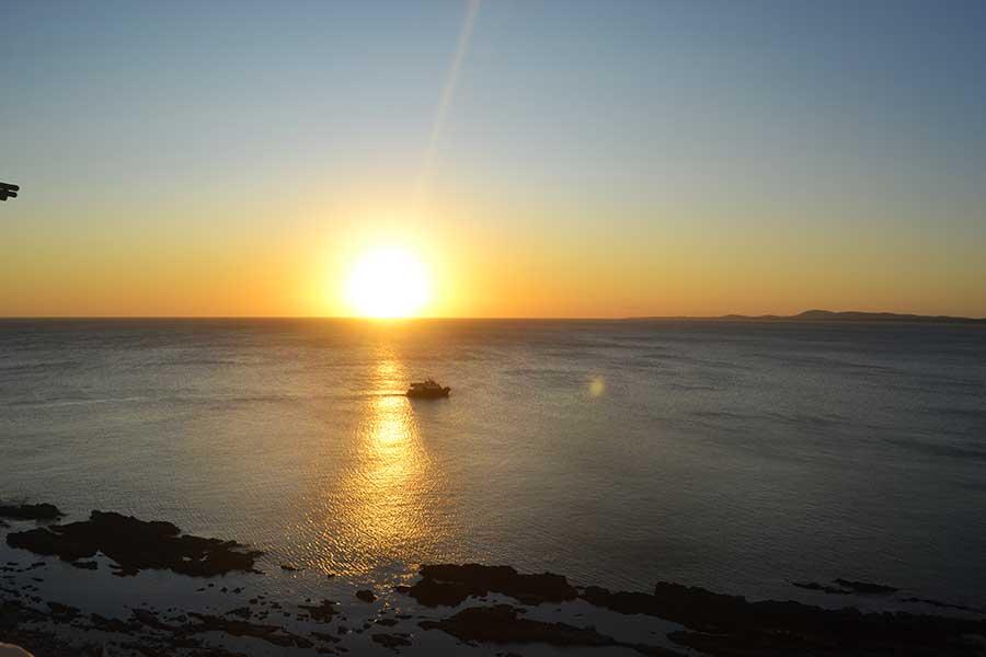 Atardecer en Punta Ballena