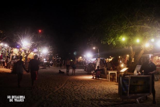 Noche en Jericoacoara