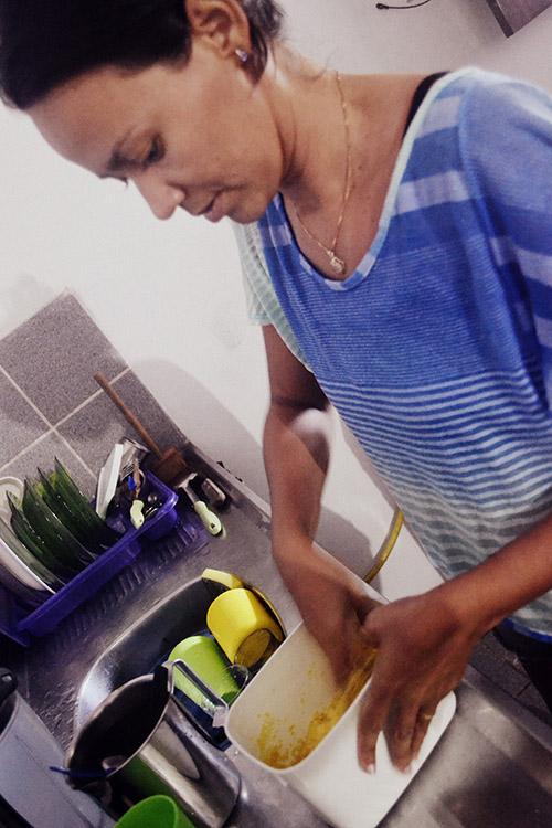 Cocinando cuscus