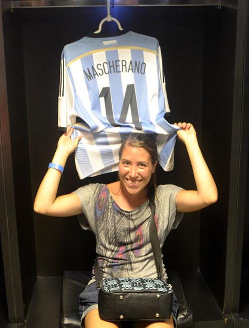 Camiseta de Mascherano
