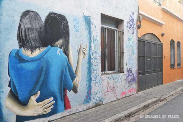 Mural de Juli Casas y Maru Bou
