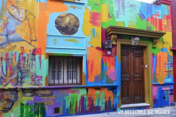 Pasaje Russel, un pasaje con encanto lleno de Street Art en Buenos Aires