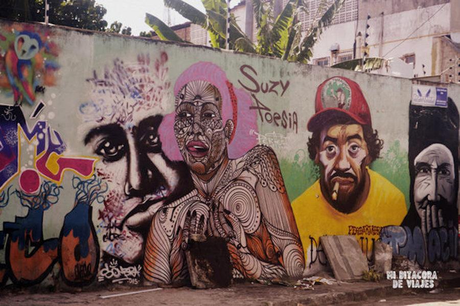 Arte urbano en Joao Pessoa