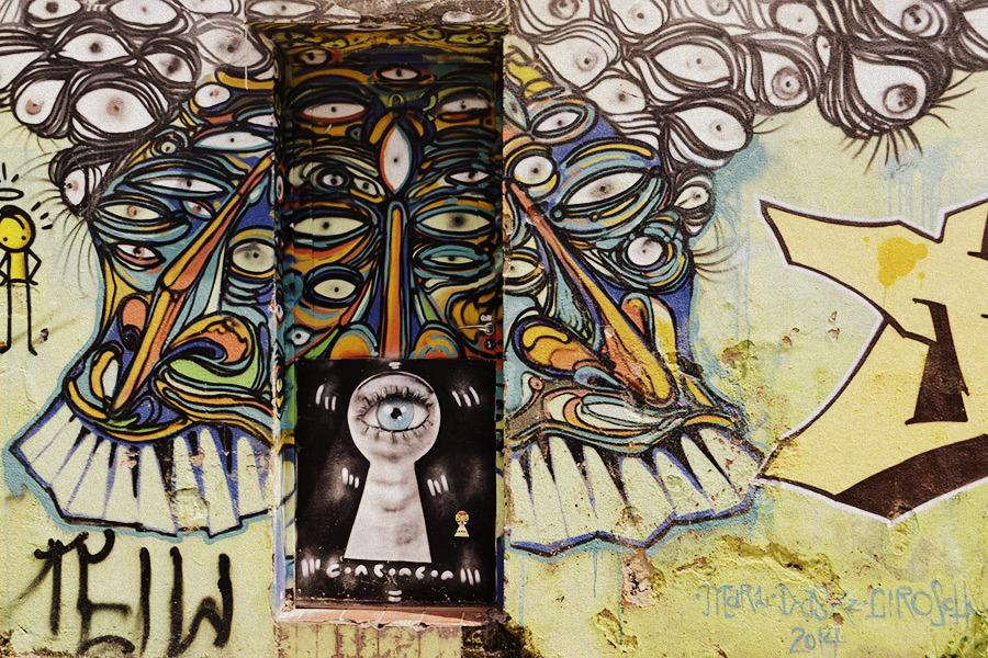 Street Art en el Beco do Batman
