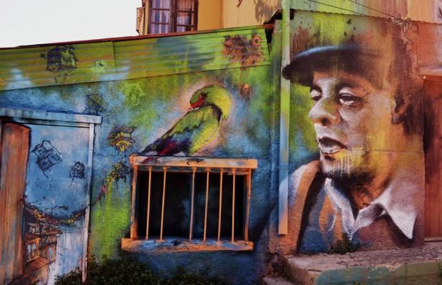 Arte urbano en Valparaíso