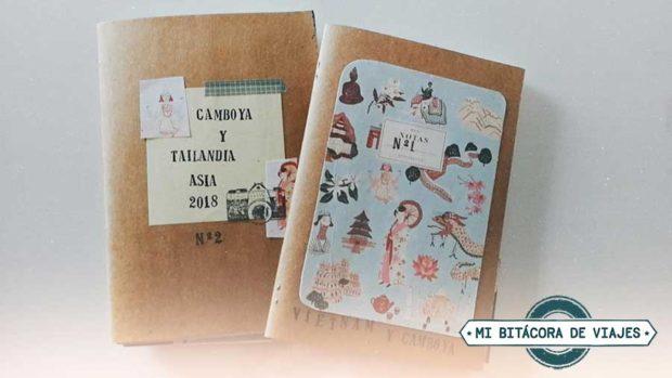 Cómo llenar un cuaderno de viajes