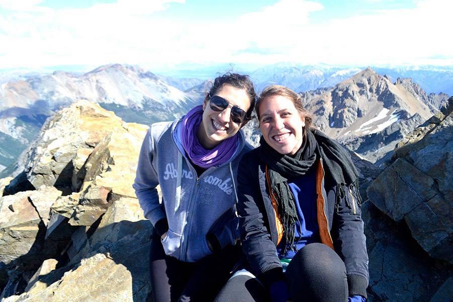 Cumbre del Cerro Piltriquitrón