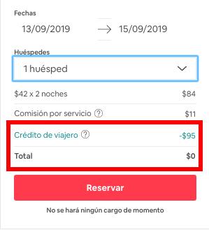 alojamiento gratis con Airbnb