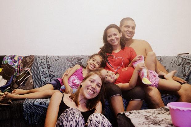 Familia Couchsurfing