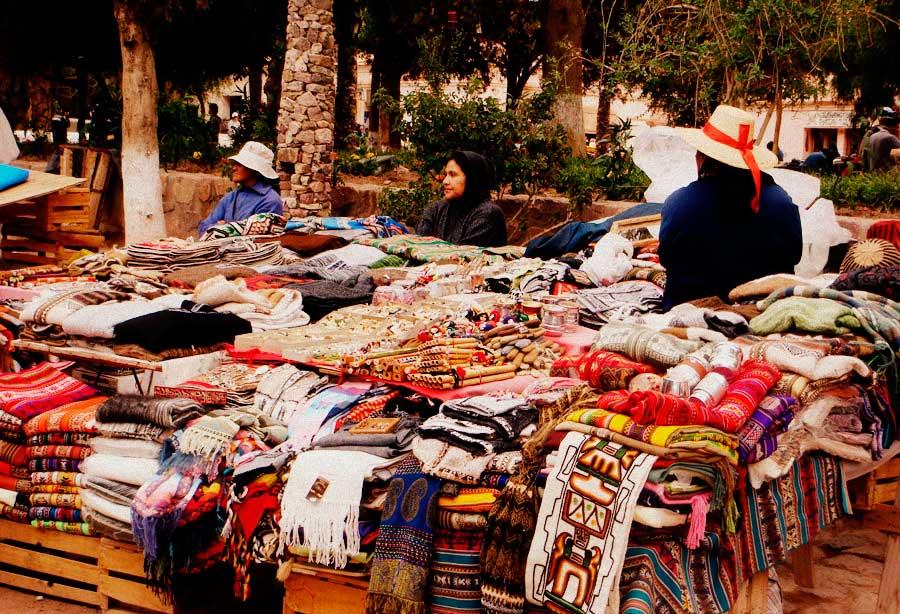 Feria artesanal de Purmamarca