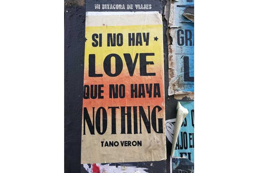 Si no hay love que no haya nothing