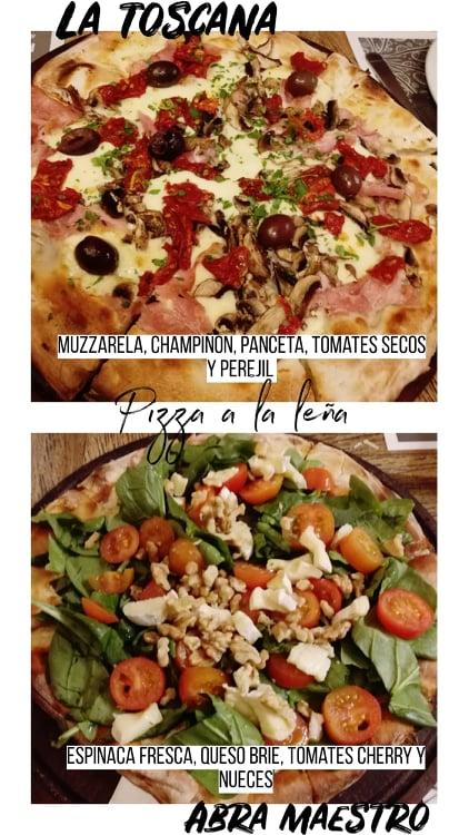 Dónde comer pizza a la leña en La Plata