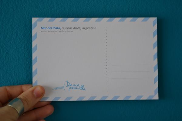 dorso de postal