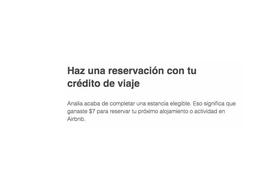 Alojamiento gratuito con Airbnb